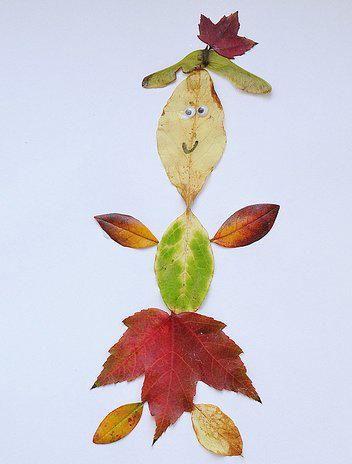 lavoretti per l'autunno 110 e più progetti creativi da realizzare coi bambini foglie