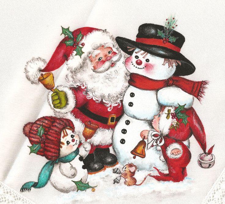 Pintura en tela navidad mis manualidades - Motivos navidenos para pintar en tela ...