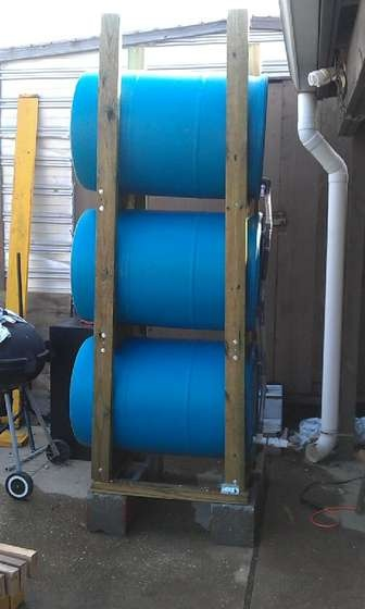 1000 images about rain barrel on pinterest water for Build a rainwater collection system