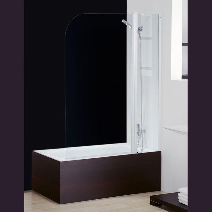 Mampara abatible para bañera GS2 Ekomic GL115