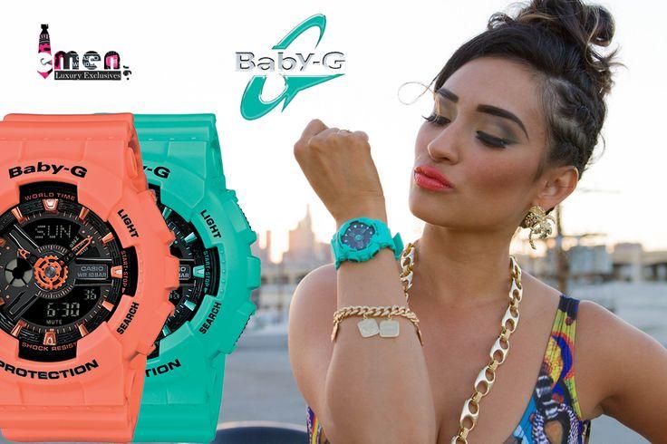 …και όλα τα νέαCASIO BABY-G στις καλύτερες τιμές της αγοράς μόνο εδώ!  Casio collection: http://www.e-men.gr/Casio-C_48