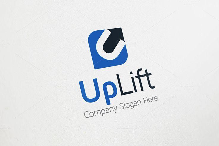 Up Arrow Logo - U Logo by Arslan on Creative Market