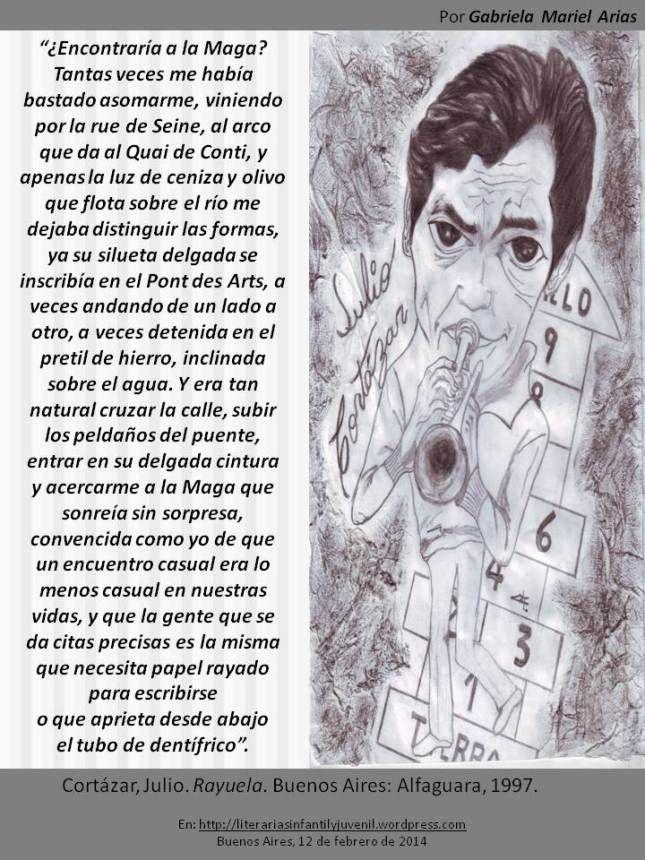 Palabras de novela: RAYUELA de Julio Cortázar. Por Gabriela Mariel Arias.