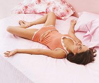 8 Minute Yoga for Better Sleep--great bedtime routine...
