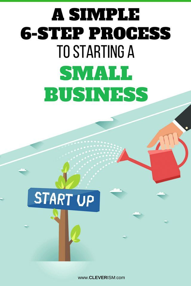 A Simple 6 Step Process To Starting Small Business Struggling With Your Empire Here S Follow