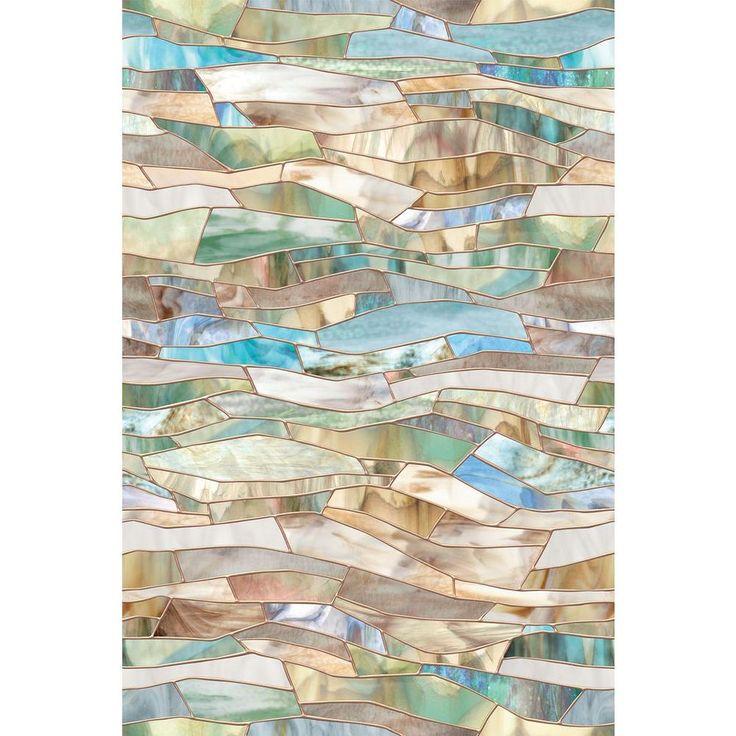 Artscape 24 in. x 36 in. Terrazzo Decorative Window Film-01-0709 - The Home Depot