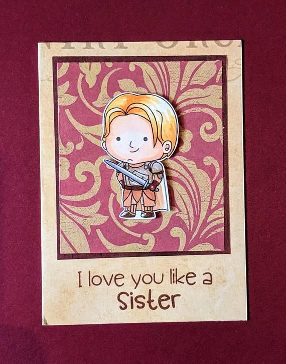 game of thrones jamie lannister love you like a sister