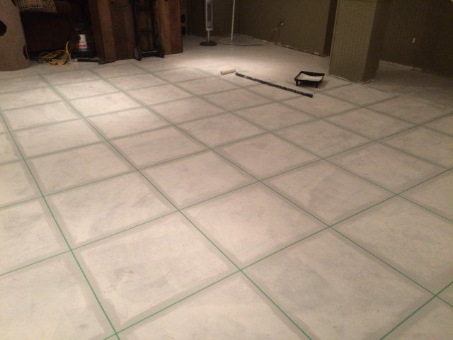 """""""I've seen this done to countertops, but on floors? That is gorgeous!"""""""