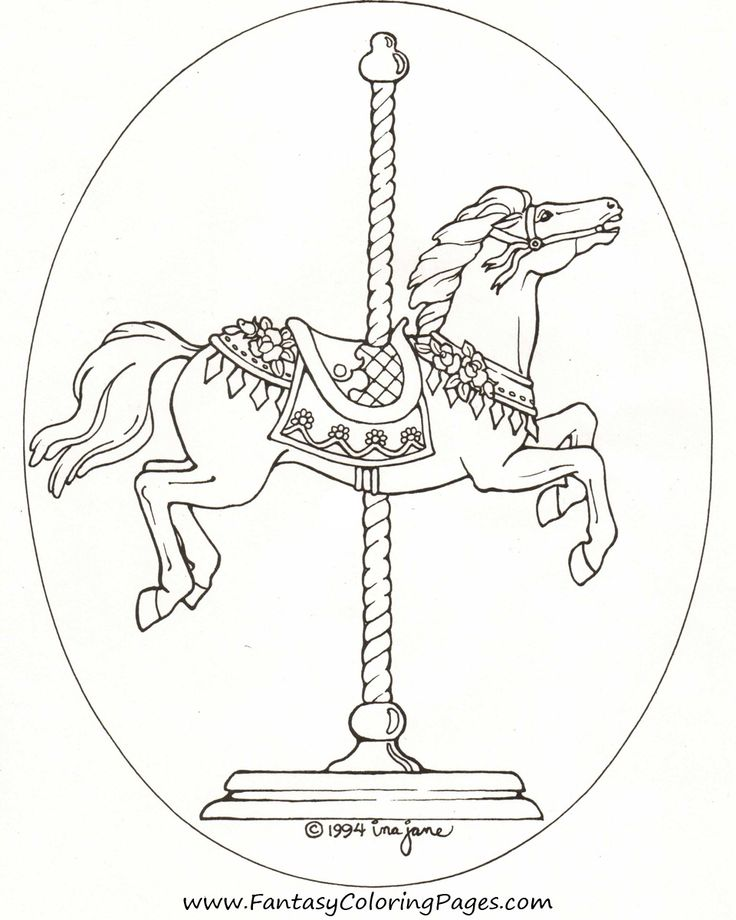 free-coloring-pages-horse
