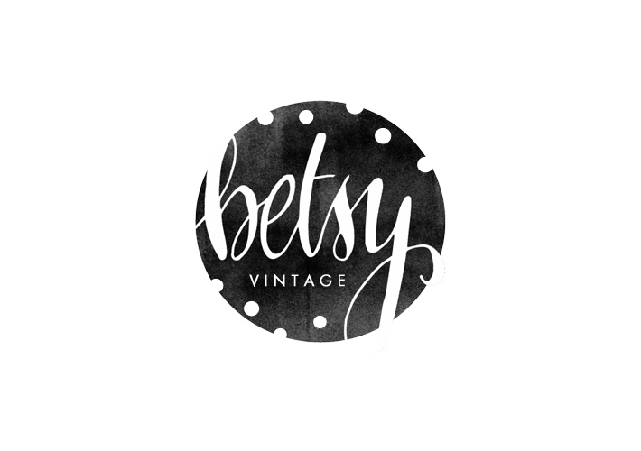 a logo i designed for betsy vintage betty red design logo design graphic design vintage. Black Bedroom Furniture Sets. Home Design Ideas