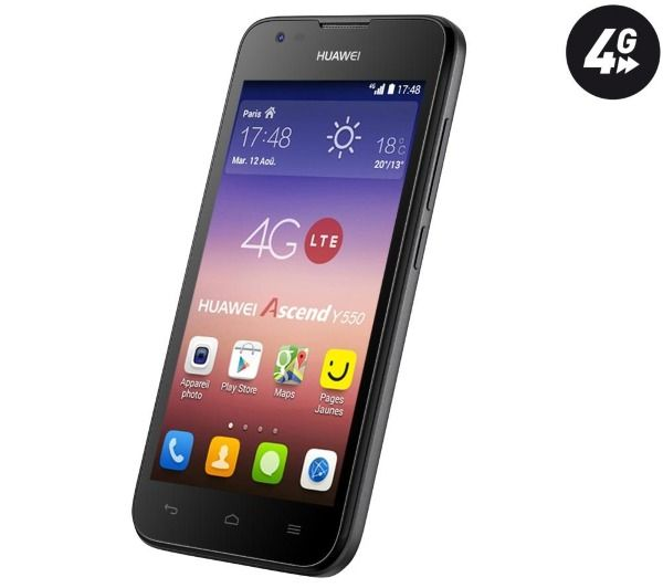 £70 for a UK-compatible 4G phone is amazing value. Go via Topcashback for this HUAWEI Ascend Y550 and you'll get even more off as Pixmania