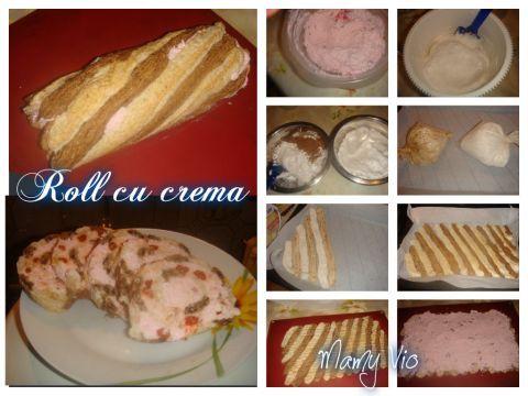 Roll cu crema | Dieta Dukan