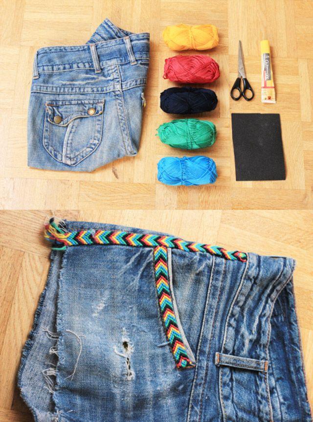 Opinando Moda: Ideias para customização de Shorts.