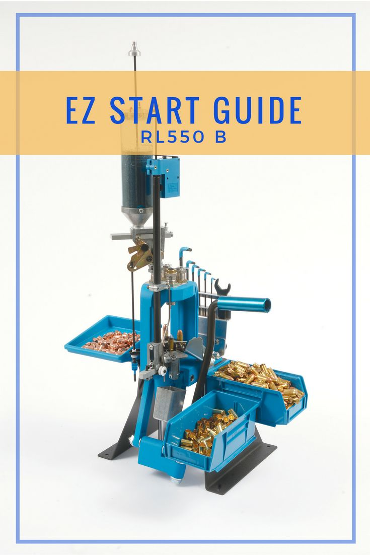 Get your new reloader setup quickly, and easily, with this EZ Start Guide.  Step by step setup instructions along with helpful illustrations make getting started reloading easier than ever before.