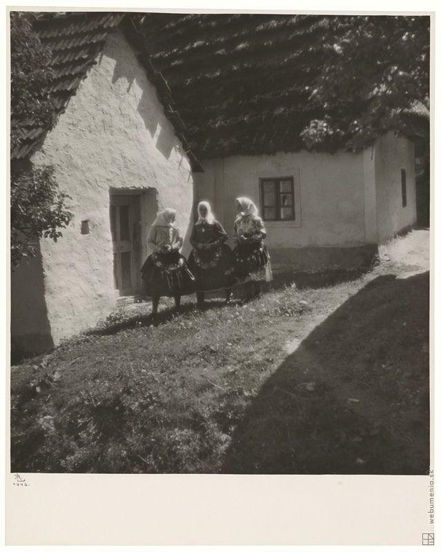Ladislav Rozman: Kavečany,Slovakia,1943