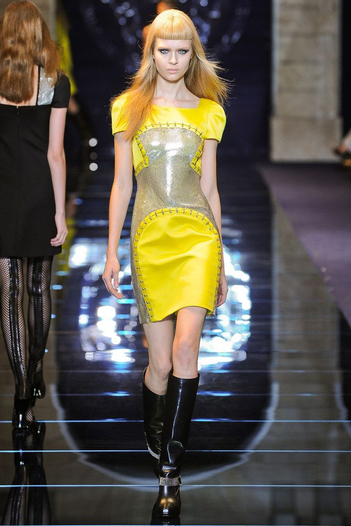 jewelry website Versace Fall 2012 Ready to Wear Collection Photos   Vogue
