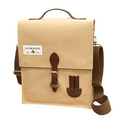 犬印純綿帆布 3ウェイバッグ(A4縦) | 通勤・通学バッグ |  | 犬印鞄製作所