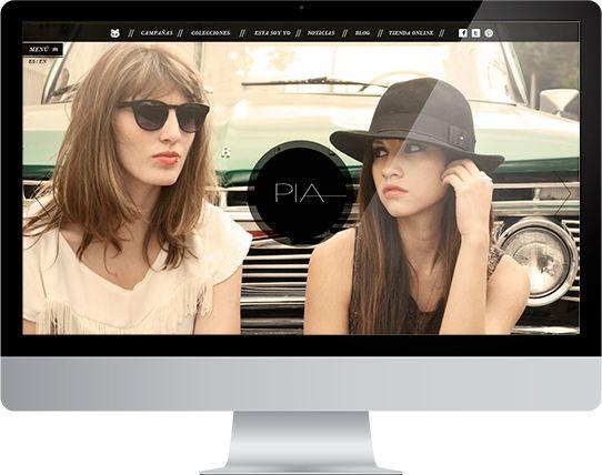 PIA Clothing by Liliana Ballén, via Behance