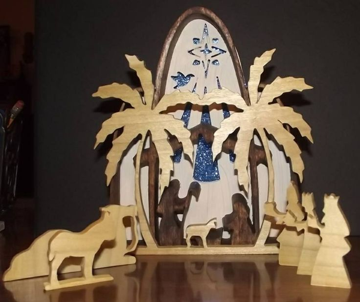 194 best images about scroll saw patterns on pinterest for Nativity cut out patterns wood