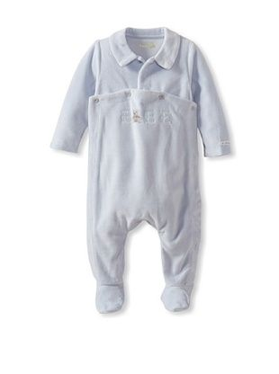 46% OFF Berlingot Baby Boy Velour Footie (Light Blue)