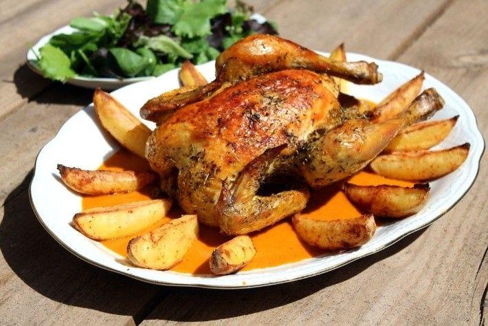 Alta Cocina Aprende A Preparar Un Pollo Al Horno Jugoso Y Delicioso Sorprende A Tu Familia Tutopm Roast Chicken Recipes Incredible Recipes Roasted Chicken