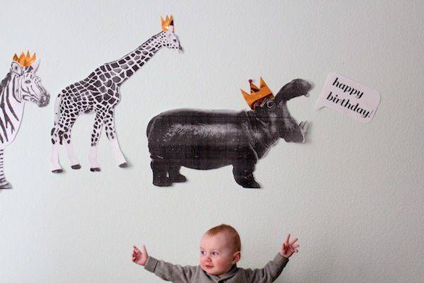 birthday animal parade. i'm thinking to start collecting any DIY for kids :')  this is from http://www.youaremyfave.com