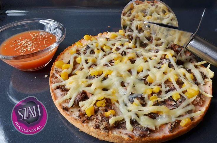 Éhezésmentes Karcsúság Szafival: Szénhidrátszegény paleo pizza