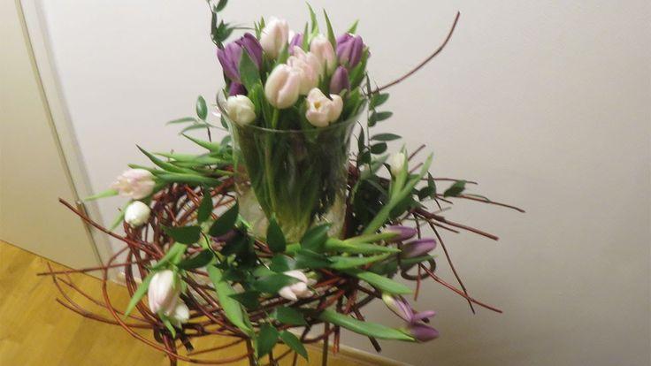 flower tower selber machen