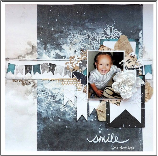 Project by More Than Words DT member Elena Tretyakova inspired by the July SMILE & SKETCH Main Challenge. More details at http://morethanwordschallenge.blogspot.ca/2016/07/july-2016-main-challenge-smile-sketch.html #morethanwords  #mtwchallenges #morethanwordschallenges #mtw