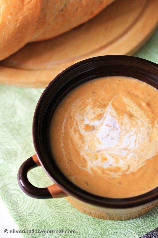 """Замечательный суп - лёгкий, нежный, очень приятный на вкус. Отправляю рецепт на ФМ """"Лето в ложке"""" и на """"Баклажанный ФМ"""" Ингредиенты: баклажан 300 г, помидор 1 шт, лук 1…"""