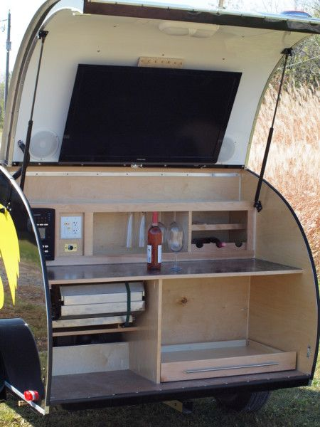 Teardrop Trailer With Bathroom: 224 Best Images About Teardrops On Pinterest