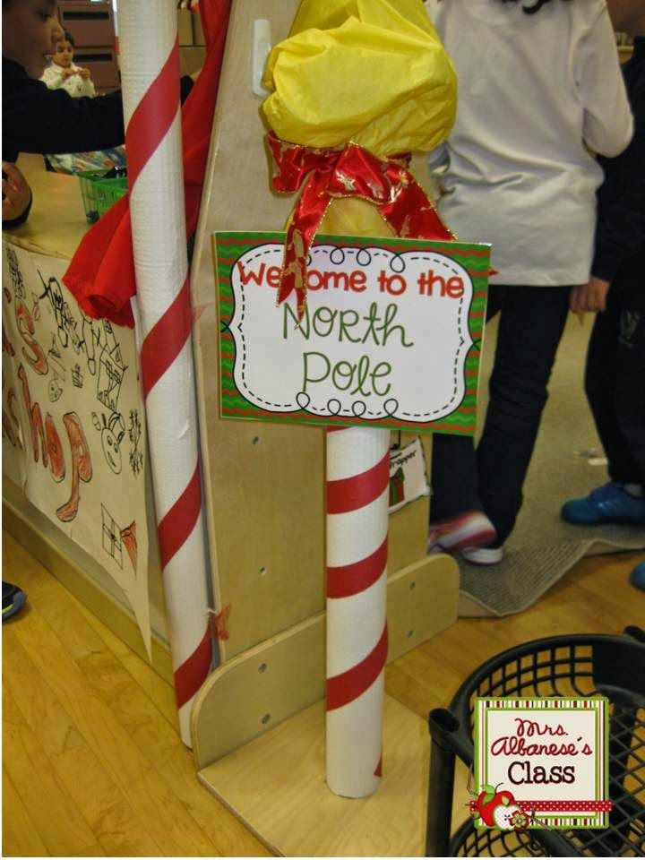 Mrs. Albanese's Kindergarten Class: Santa's Workshop at our Dramatic Play Center