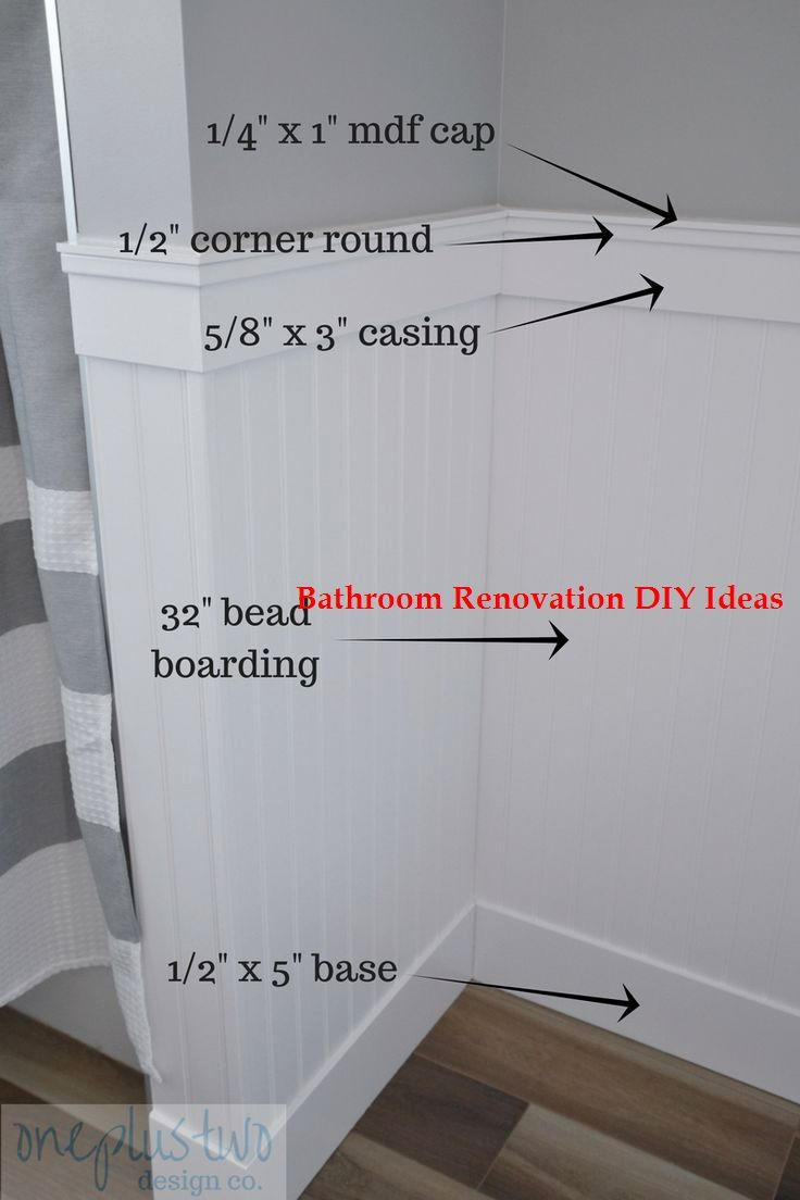 15 Diy Ideas For Bathroom Renovations In 2020 Bathroom Renovation Diy Diy Bathroom Makeover Cheap Bathroom Remodel