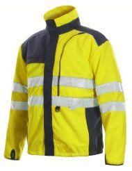 Projob Hi Vis Advanced Fleece Jacket 646302.