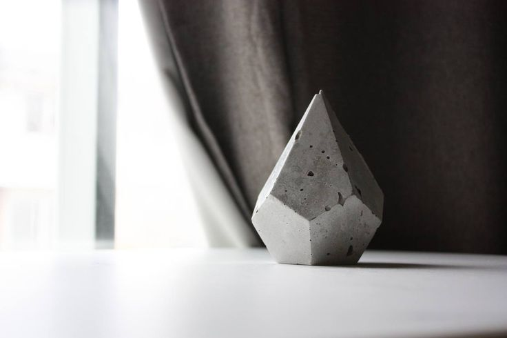 Teardrop Diamond Geometric Planter