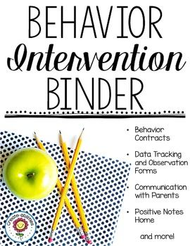 This 600 page set contains behavior contracts, behavior intervention forms, behavior calendars, parent communication forms, positive notes home, and more! There are also editable forms for you to type in your own information onto each page. Inside the bundle you will find an English version and a Spanish version.
