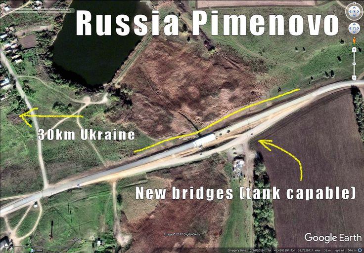 Russian infra building along its West border. To Ukraine 30km. Rostov region.