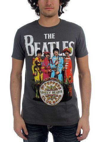 The Beatles - Sgt Pepper T-Shirt – On sale at muzikshirt.com