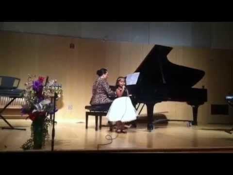 Heavenly joy jerkins is singing frozen youtube cute for Encino yamaha music school