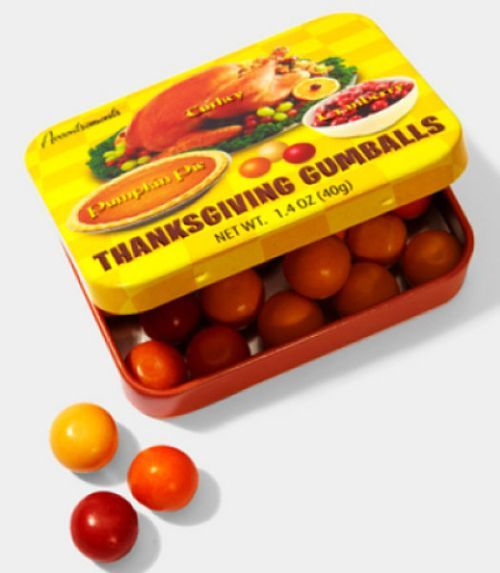 Thanksgiving gumballs! Where have these been all my life?
