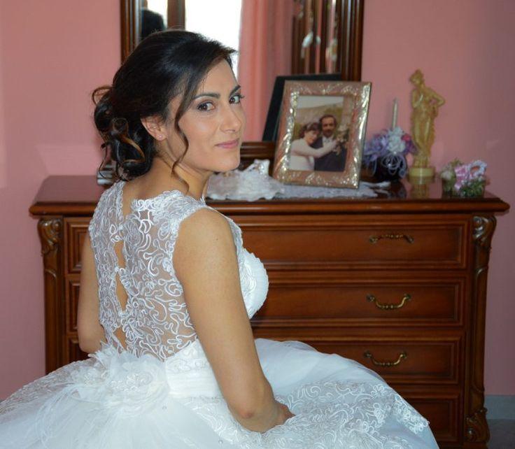 abito sposa in pizzo per la nostra sposa Giuseppina