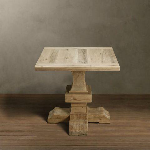 Метки: Деревянные столы, Кухонный стол, Обеденный стол из массива.              Материал: Дерево.              Бренд: RESTORATION HARDWARE.              Стили: Прованс и кантри.              Цвета: Коричневый.