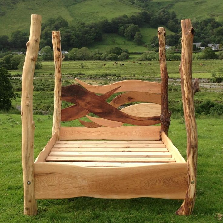 handmade-wooden-fairy-bed