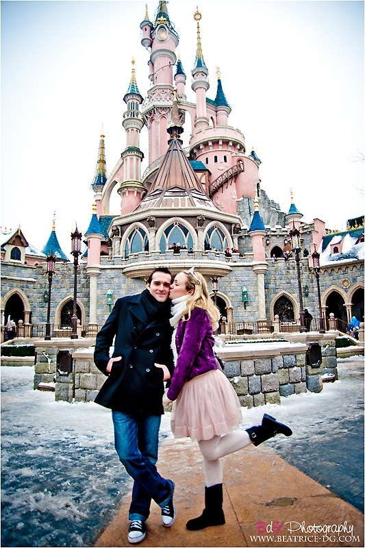 engagement in disneyland paris, my wish for when im older(too young atm!) is for my prince charming to propose to me in my favourite place in the world <3