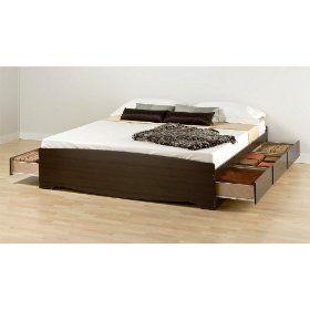 best 25 king size platform bed ideas on pinterest queen platform bed diy bed frame and king size bed frame - Platform Bed Frame King Size
