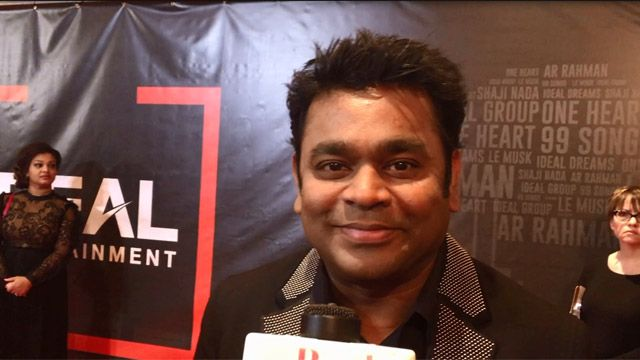 Legendary Bollywood Composer A.R. Rahman Visits Toronto To Promote New Films
