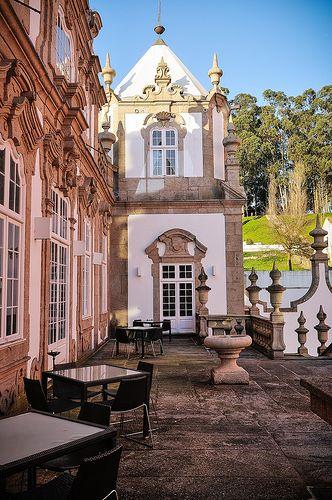 """Pousada"" (historical building hotel) at  Porto, Palácio do Freixo in Gondomar (#Porto, #Portugal)"