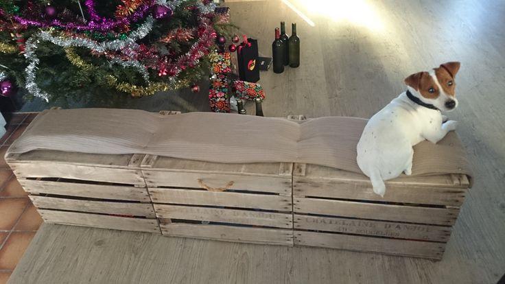 1000 id es sur le th me meubles pour caisse de chien sur pinterest table pour caisse de chien - Caisse apple ...