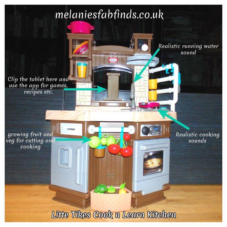 Little Tikes Cook n Learn Kitchen http://melaniesfabfinds.co.uk/children/14106/