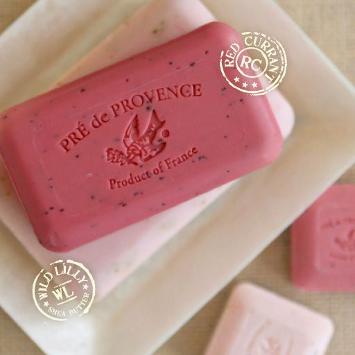 Pre de Provence bar soaps... another of my favorite bath products that is just for me! Rose is my fav.